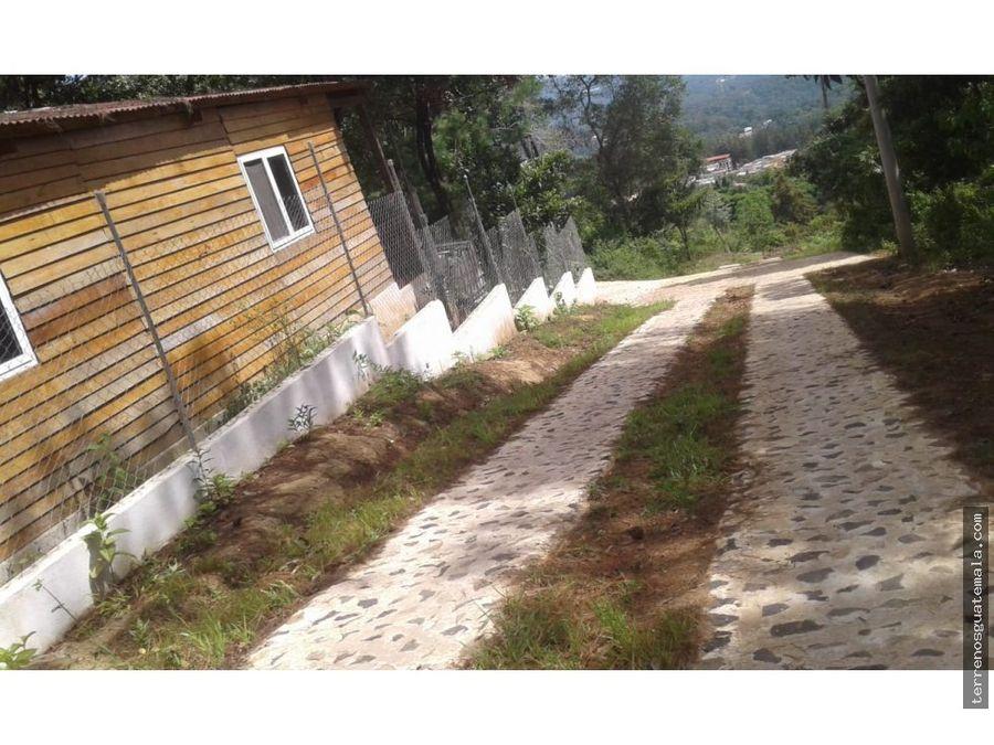 vendo lindo terreno en san juan sacatepequez