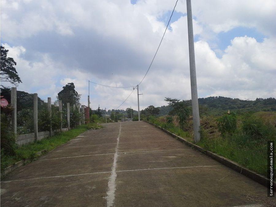 lindo terreno en carretera a salvador