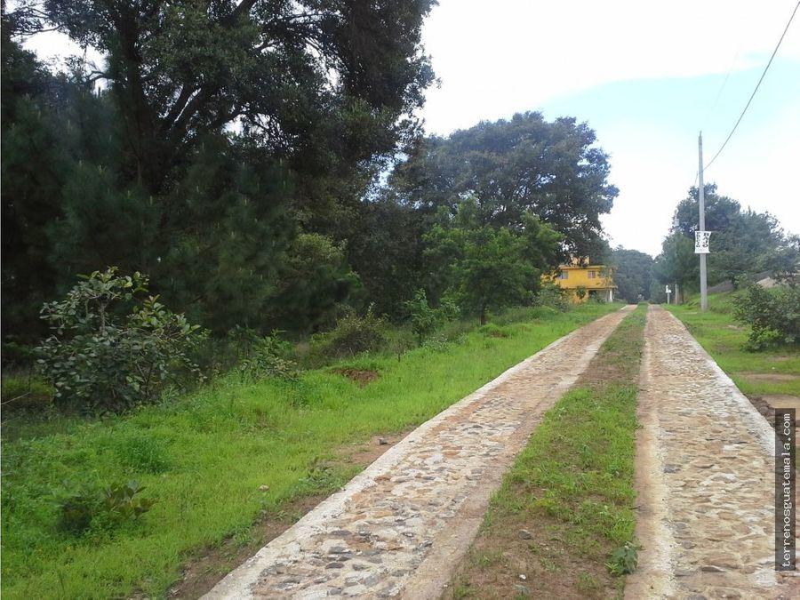 vendo hermoso terreno en san juan sacatepequez