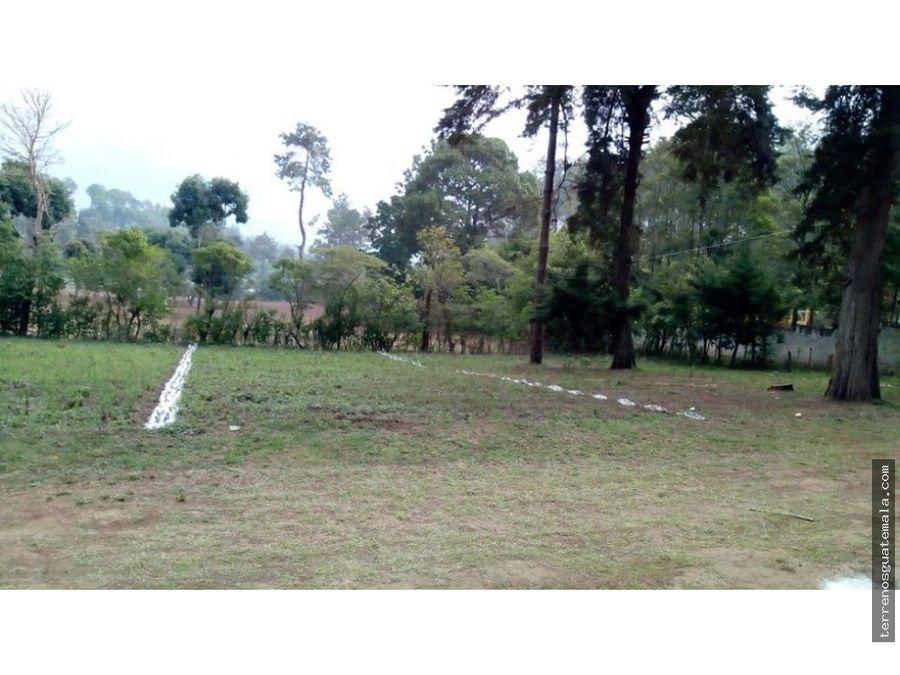 bonito terreno en chimaltenango