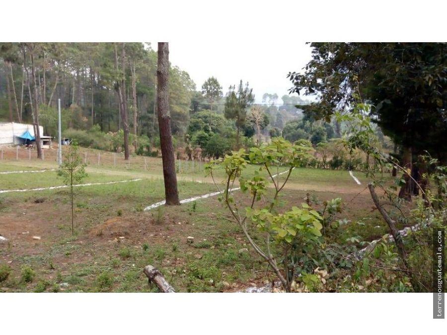 vendo maravilloso terreno en chimaltenango