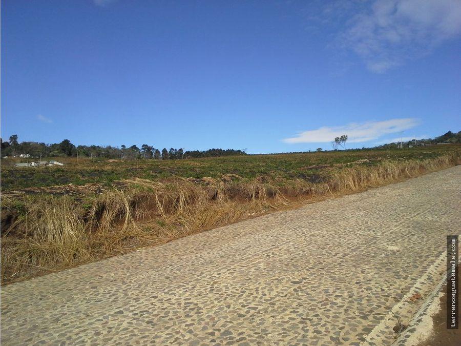 hermoso terreno en carretera al salvador