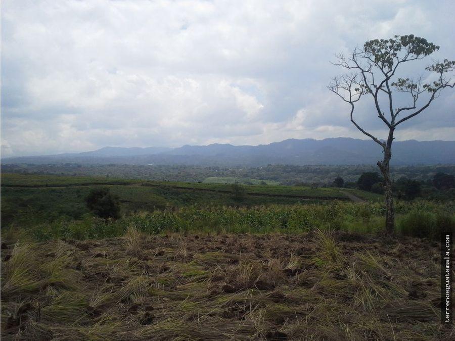 vendo maravilloso terreno en carretera a salvador