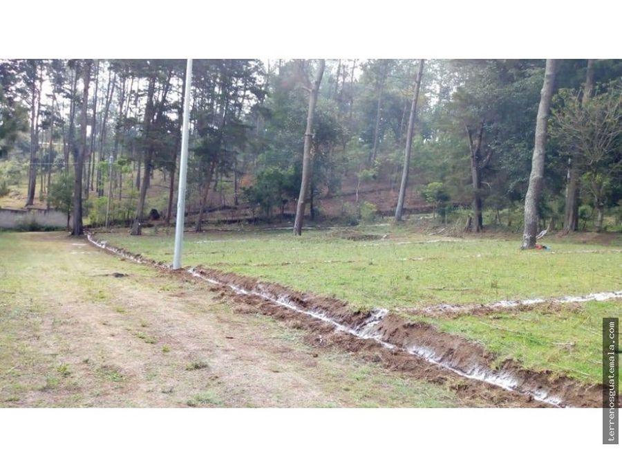 vendo hermoso terreno en chimaltenango