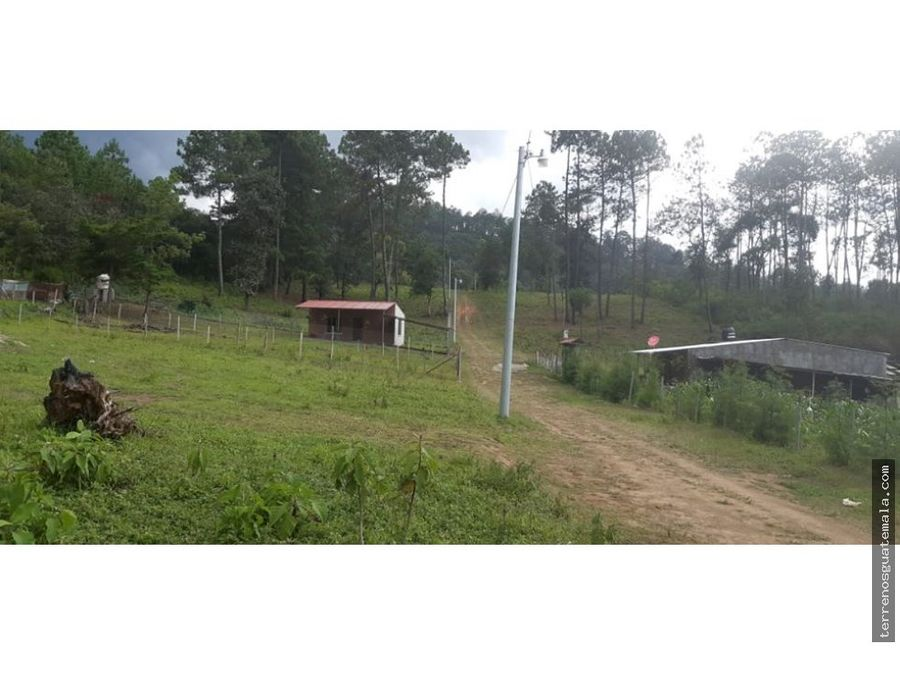 vendo terreno en chimaltenango