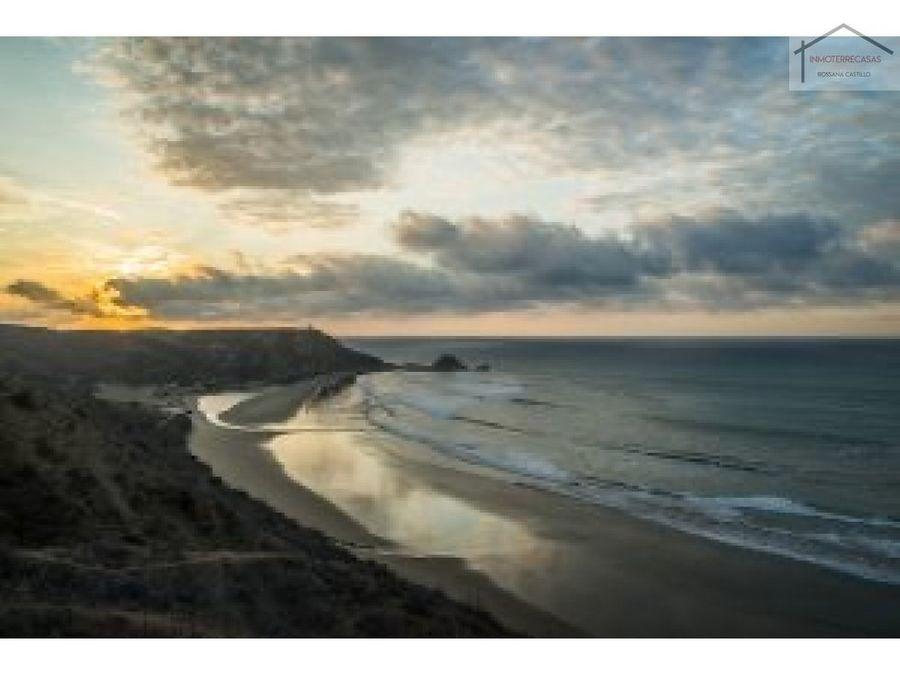 venta de terreno playa la tinosa manta manabi