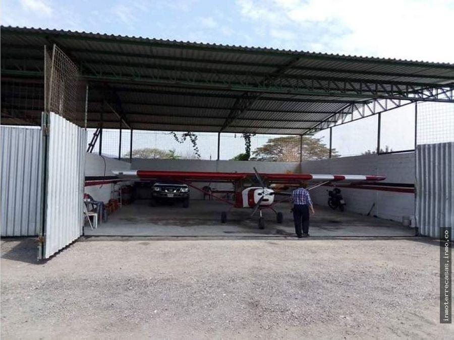 venta de pista aterrizaje chongon guayaquil