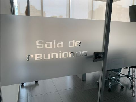 alquiler de oficina a 180 mt2 san isidro