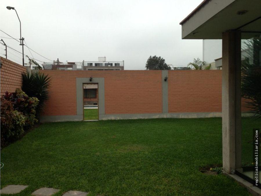 terreno de 1334 m2 en av buena vista chacarilla san borja lima