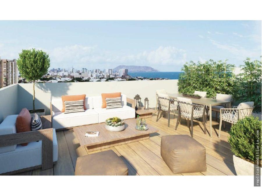 venta departamento 2 dormitorios magdalena del mar lima