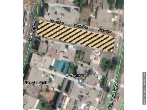 vendo terreno de 1343 m2 en san borja lima