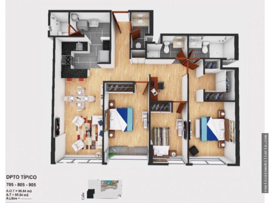 venta departamento 3 dormitorios magdalena del mar lima