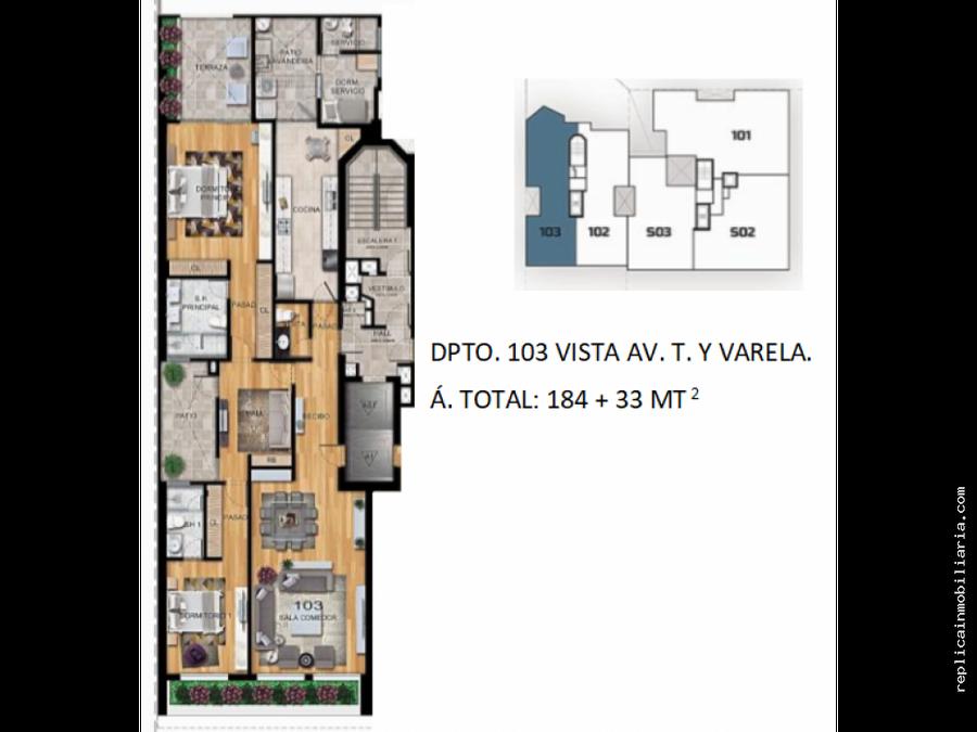 venta de departamento flat estreno san isidro