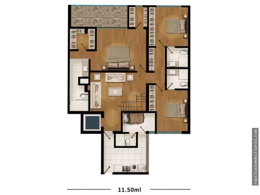venta departamento duplex3 dormt la aurora miraflores lima