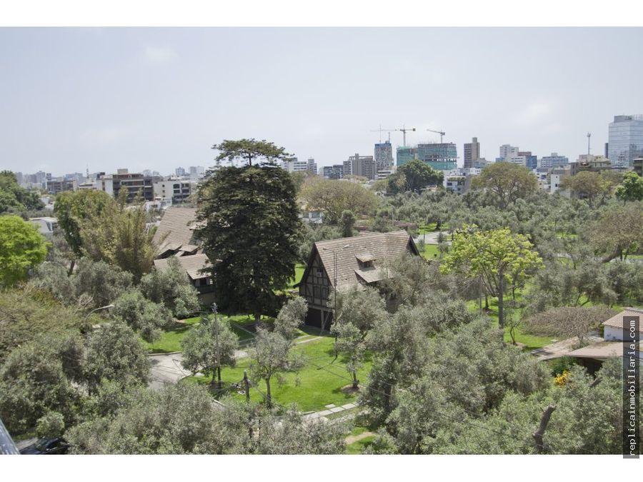 alquiler de fino dpto 3 dormitorios el olivar san isidro