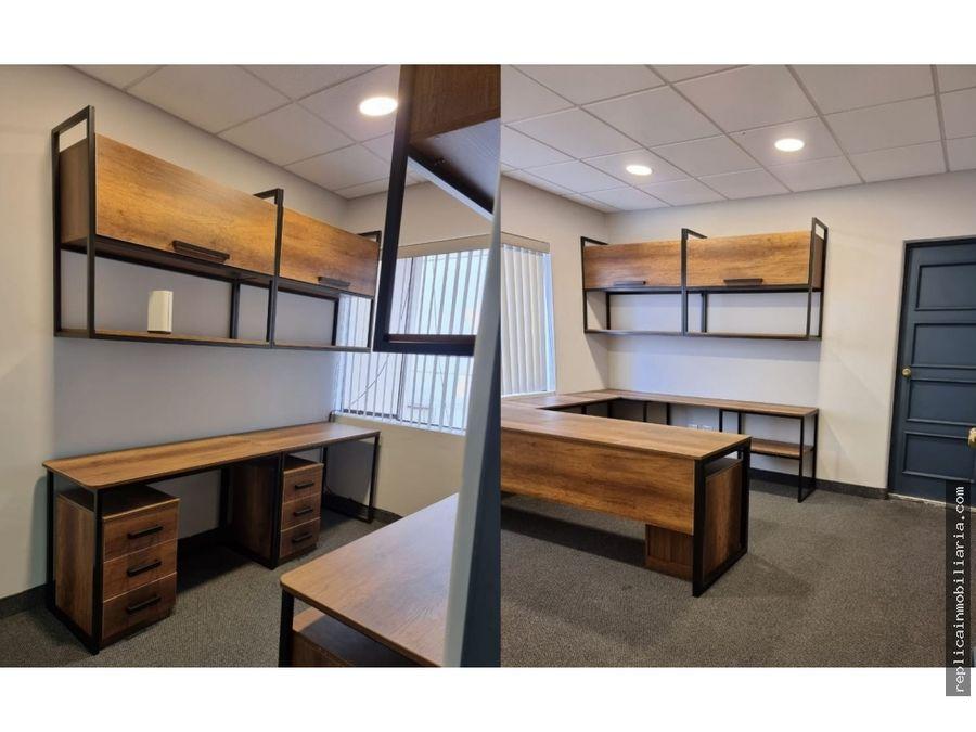 alquiler de oficina en san isidro bien ubicada
