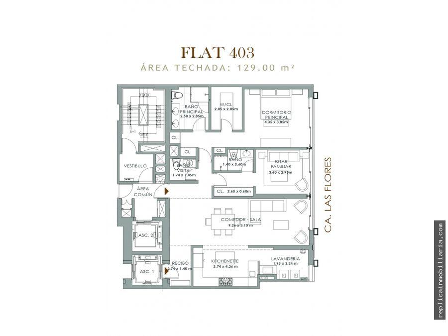 venta departamento duplex san isidro lima