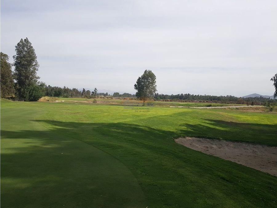 terreno 2500 mt2 en venta en condominio club de golf angostura