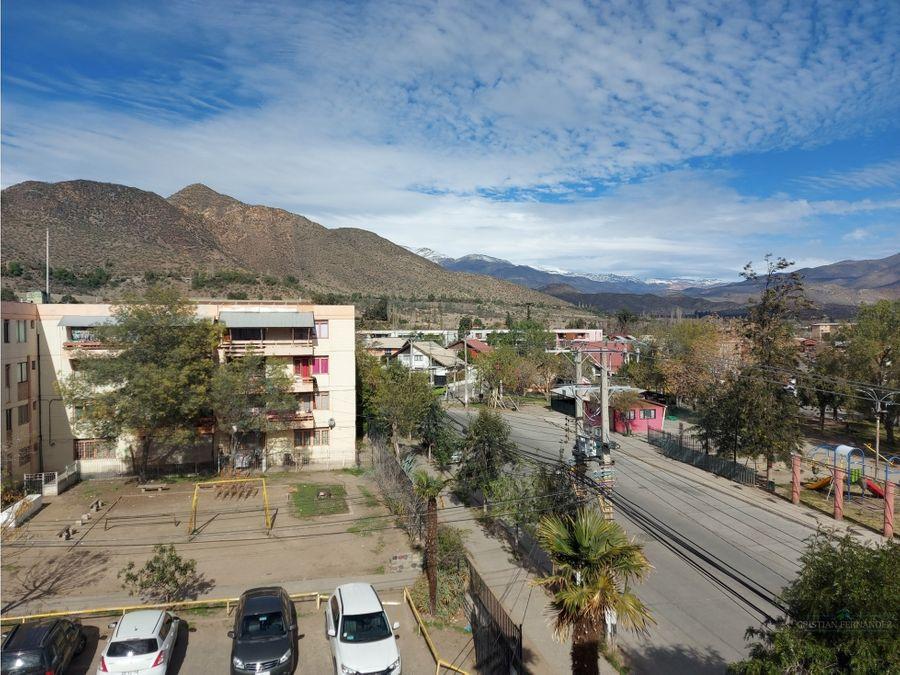 los andes arriendo dpto amoblado villa minera andina