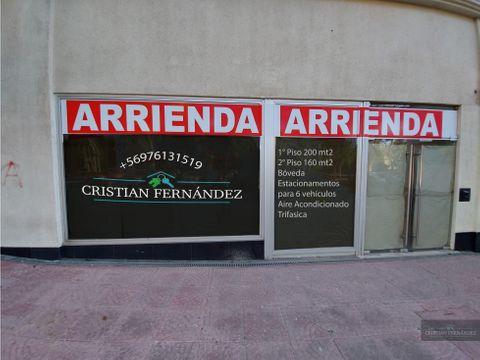 arriendo local comercial centro de los andes