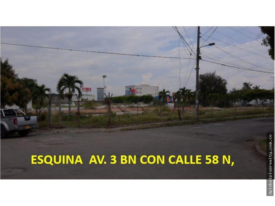 lote av 3n calle 58n expectacular ubicacion gran vitrina rentable