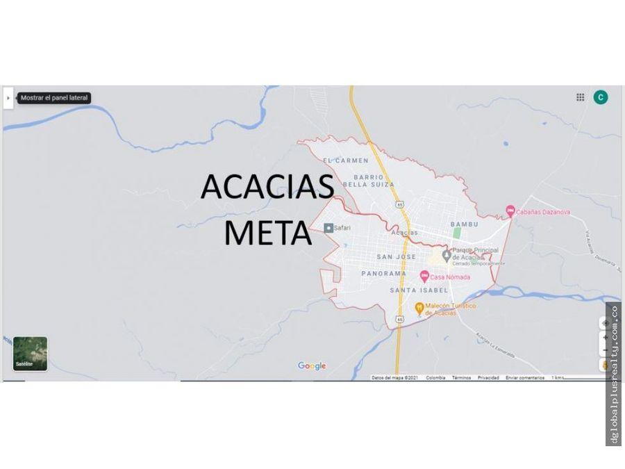 meta acacias 5 excelente lotes 126m 132m 126m 331m 280m