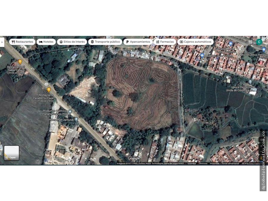 lote para urbanizar al lado de terranova sobre la panamericana