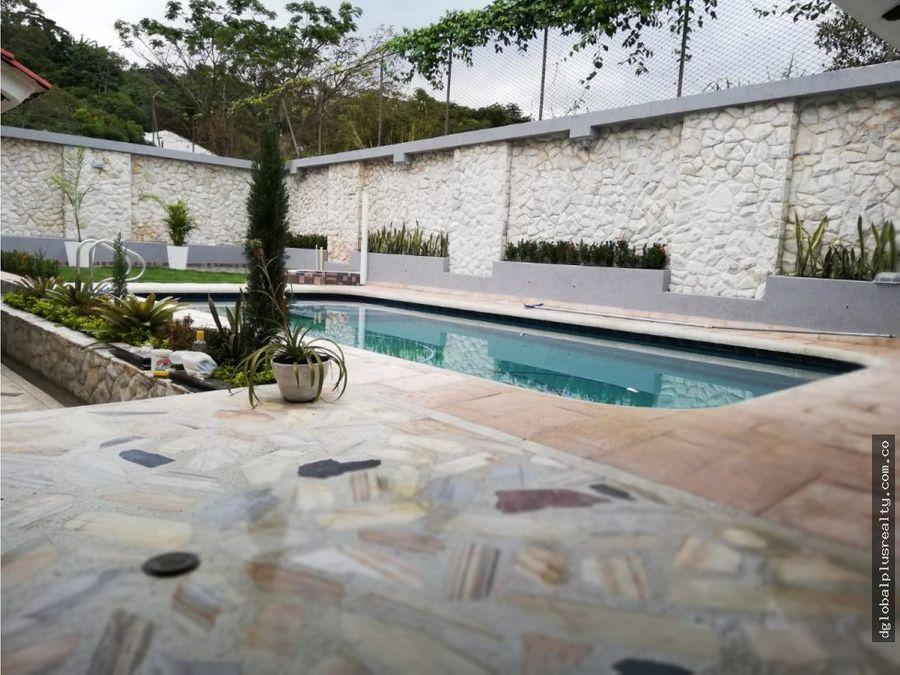bella vista hermosa casa en venta cerca a la naturalez frescura
