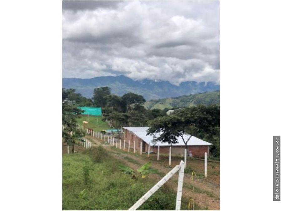 dagua lote 5 3013m2 proyecto urbanizado excelente oportunidad