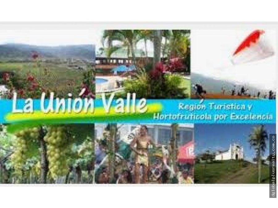 la union valle hermosa finca bien ubicada productiva