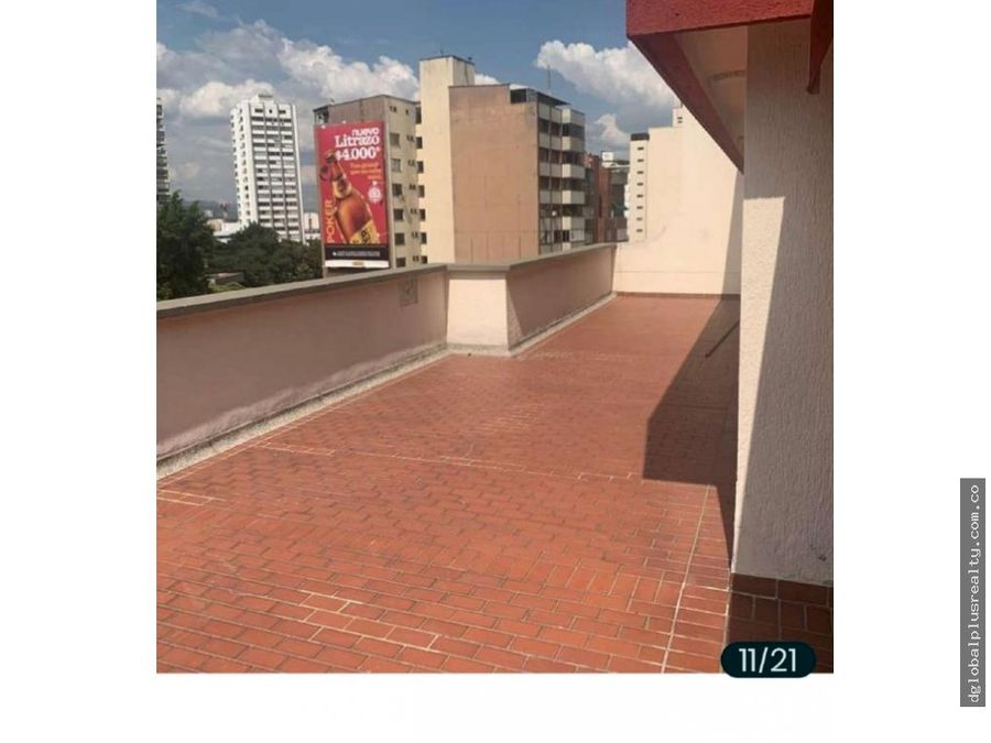 hermoso pent house edificio en versalles norte de cali central