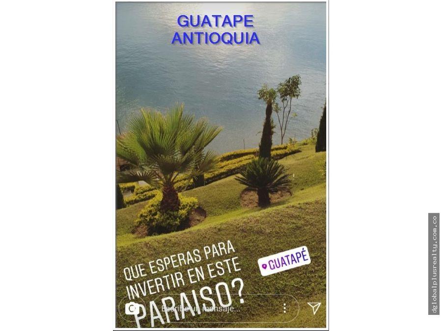 guatape en la isla guaca un lugar expectacularmente hermoso