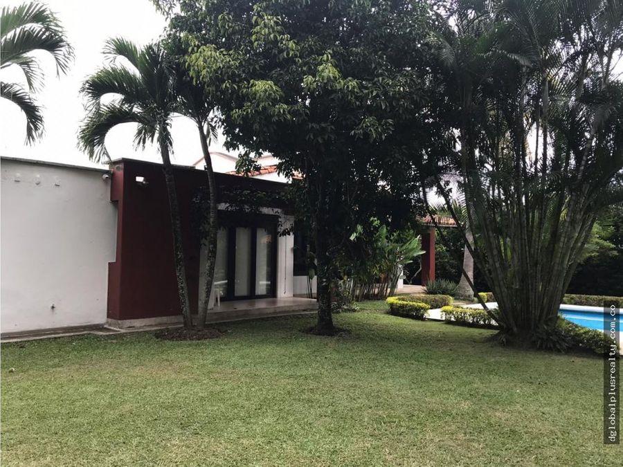 espectacular casa campestre en pance cali