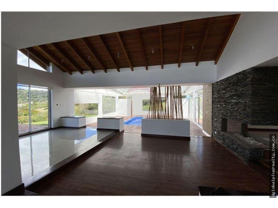 sopo cundinamarca hermosa casa campestre yerba bonita bosque nativo