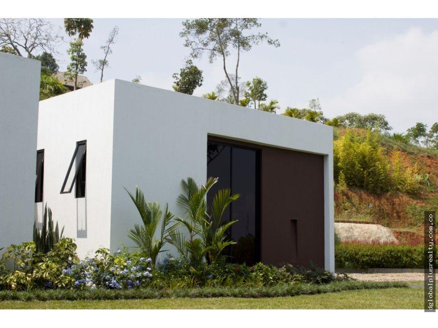 hermosa casa campestre en pance super construcion lomas del viento