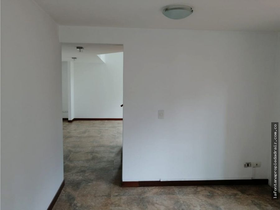 apartamento en arrendamiento sector milan