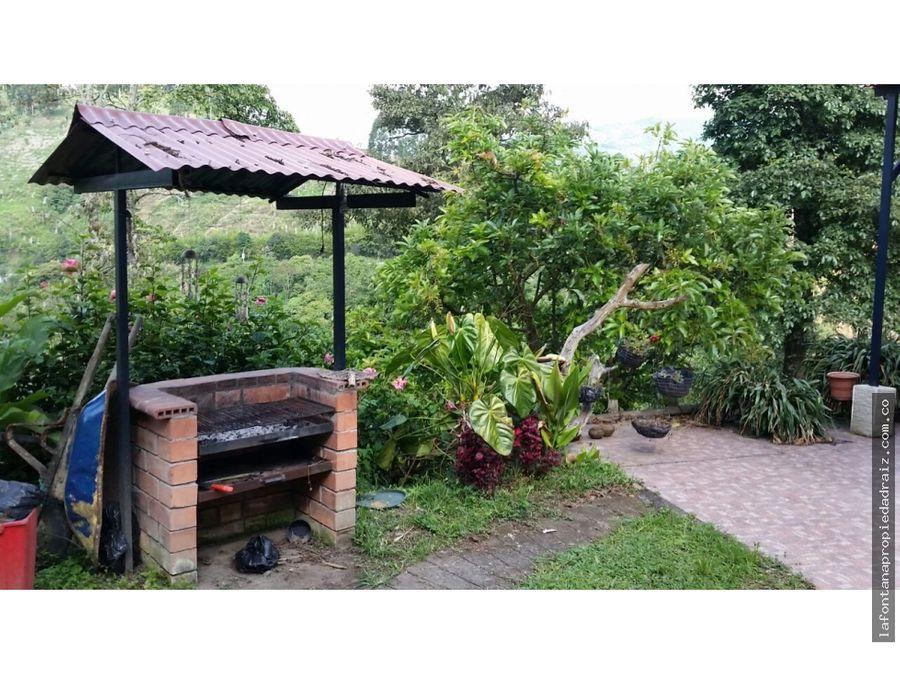 venta de casa campestre en vereda agua bonita