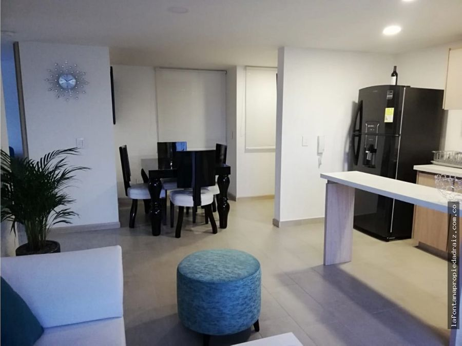 arrienda apartamento en av santander