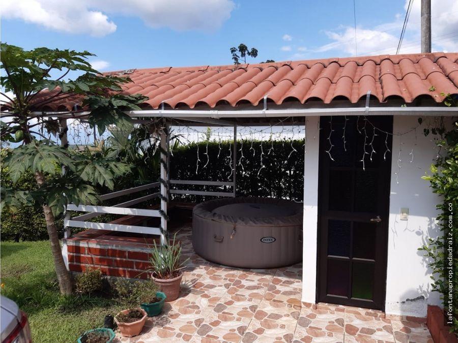 venta de casa campestre en palestina