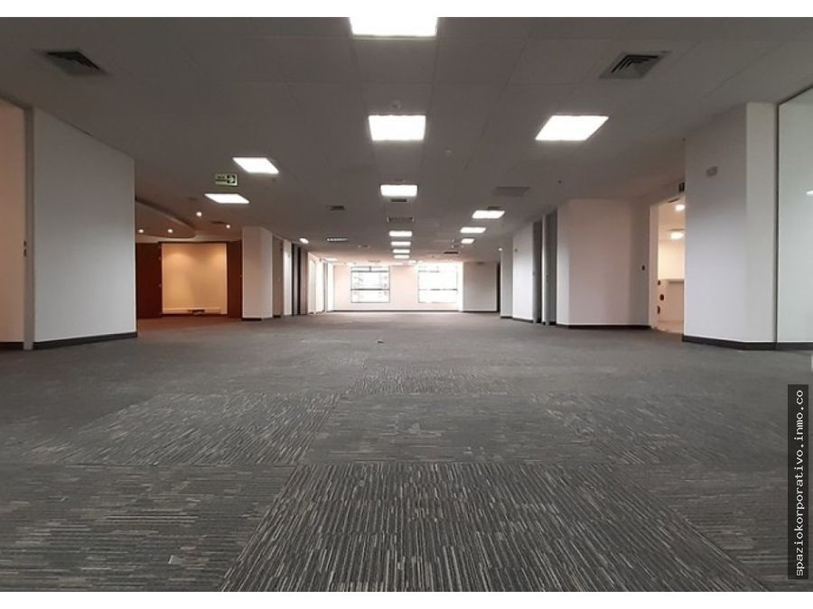 oficina arriendo teleport piso 14 de 589 m2