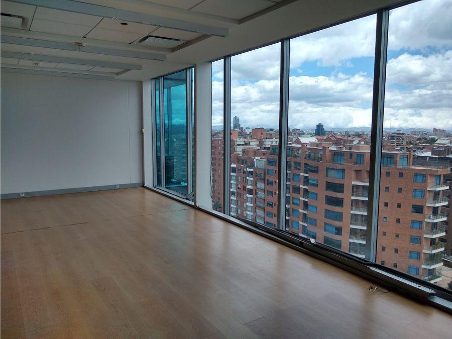 oficina arriendo torre pacific 112 m2