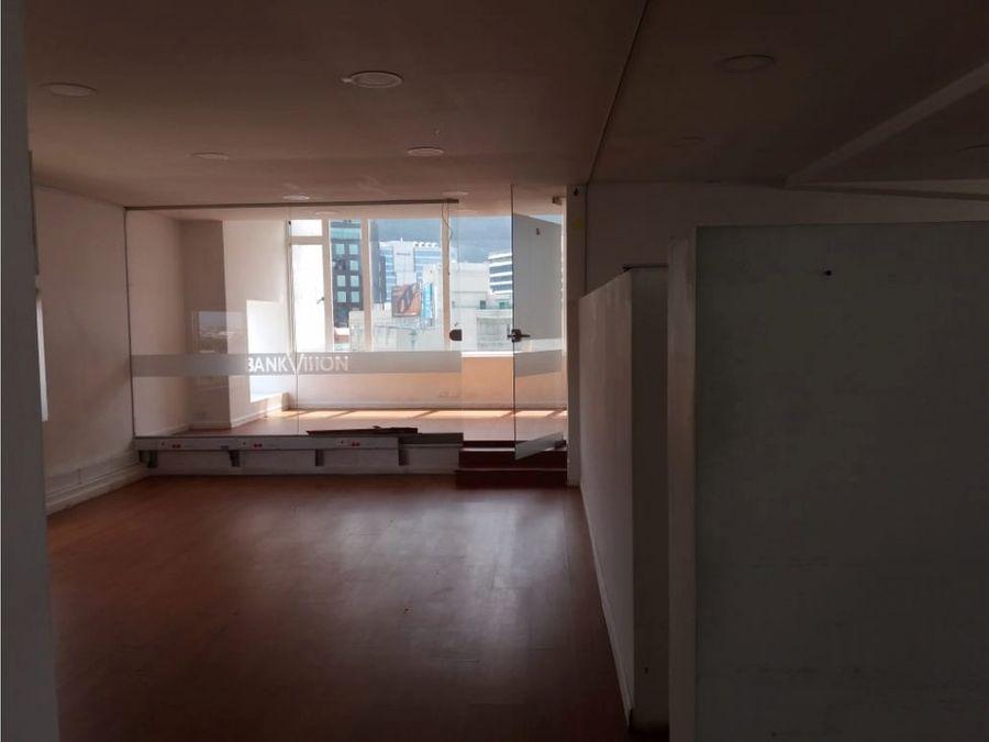 oficina venta o arriendo edif round point calle 100 de 514 m2