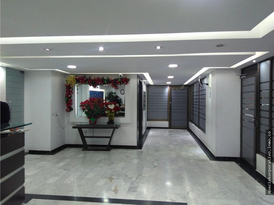 oficina arriendo espectrum de 195 m2