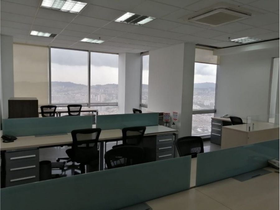 oficina amoblada avda dorado edif wbp de 800 m2