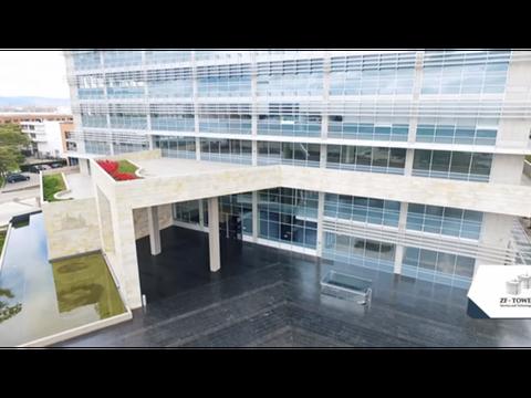 oficina arriendo zona franca towers 3195 m2