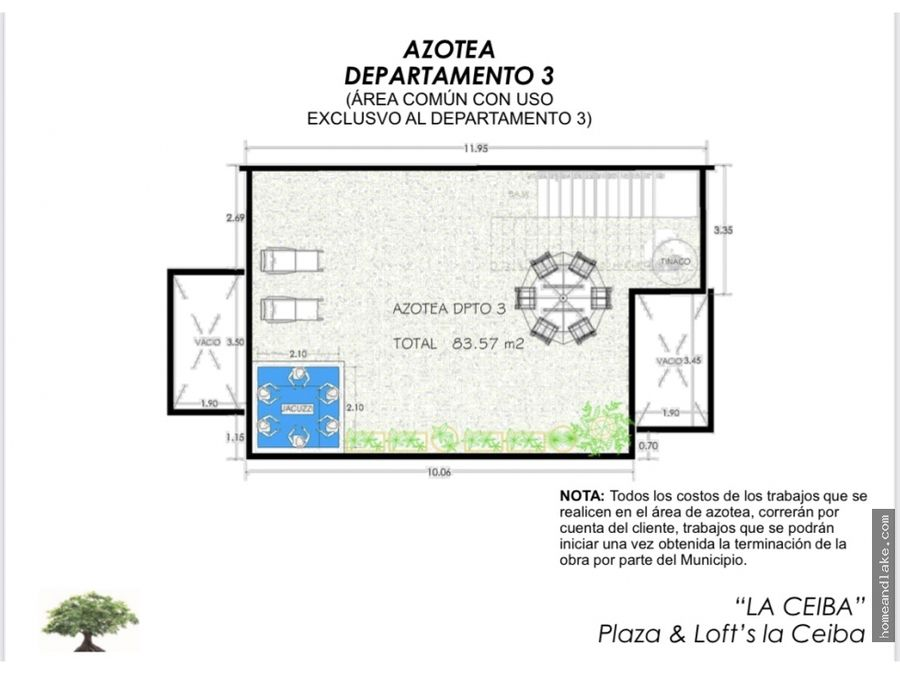 loft 3 plaza la ceiba