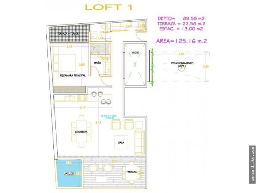 lofts plaza la ceiba