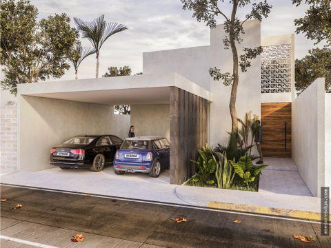vivienda residencial magnolia home dzitya yucatan