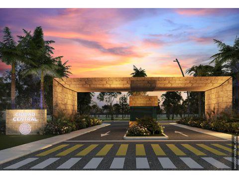 lote residencial ciudad central yucatan