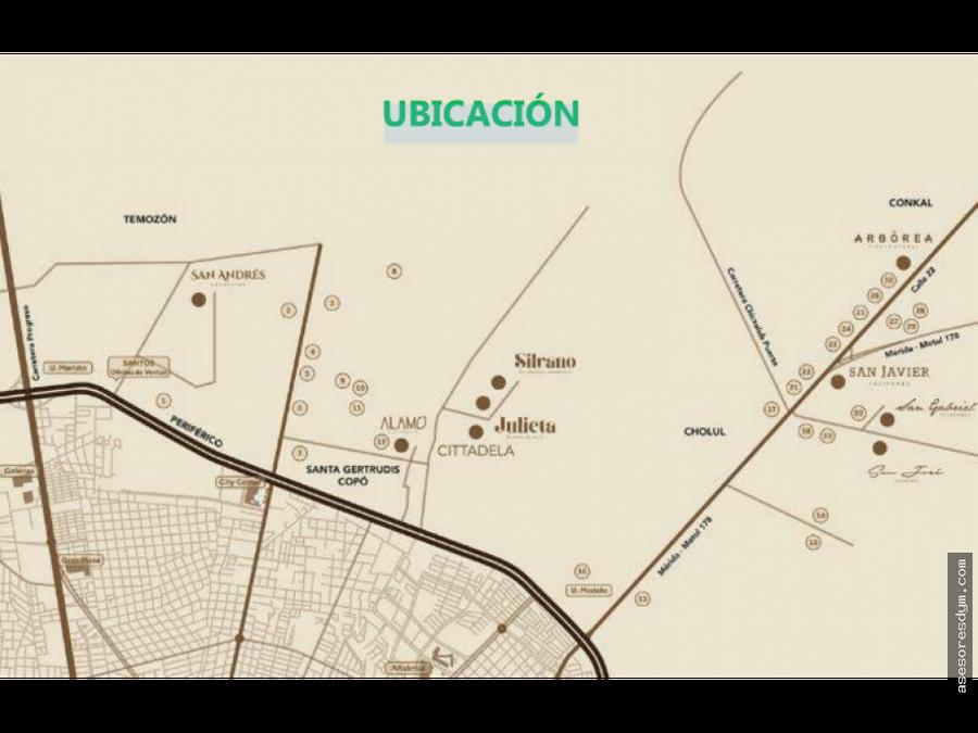 terreno lote silvano cholul yucatan